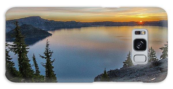 Crater Lake Morning No. 2 Galaxy Case