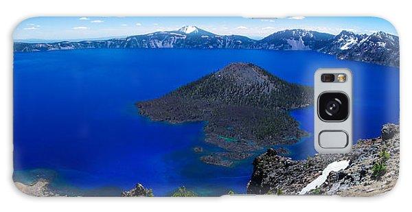 Crater Lake National Park Panoramic Galaxy Case