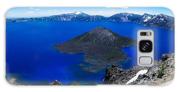 Crater Lake National Park Panoramic Galaxy Case