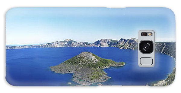Crater Lake Panoramic Galaxy Case