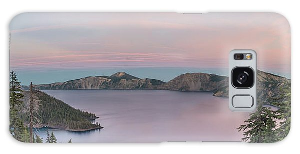 Crater Lake Sunset Galaxy Case