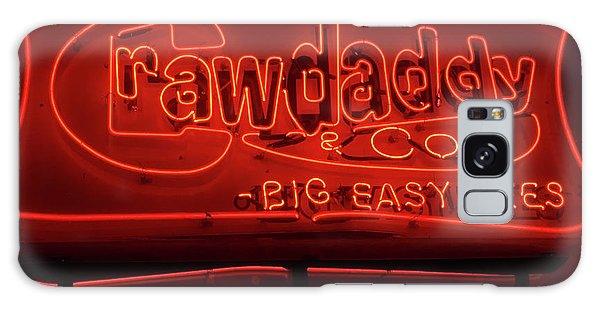 Craw Daddy Neon Sign Galaxy Case