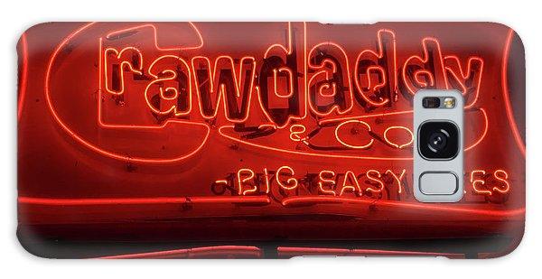Craw Daddy Neon Sign Galaxy Case by Steven Spak