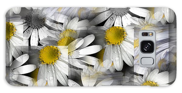 Crazy Daisys Galaxy Case by Karen Lewis