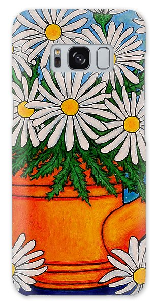 Crazy For Daisies Galaxy Case