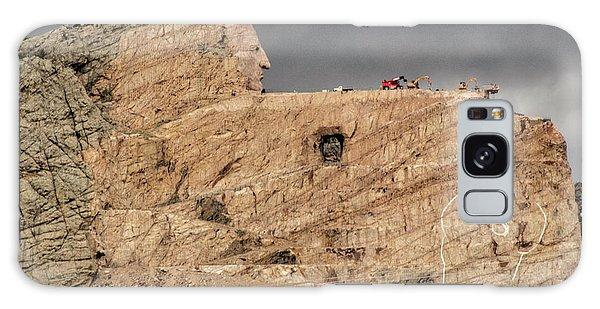 ...entrance Crazy Horse Memorial South Dakota.... Galaxy Case