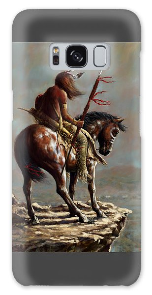 Crazy Horse_digital Study Galaxy Case by Harvie Brown
