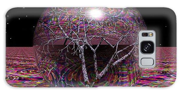 Crazy World Galaxy Case by Robert Orinski