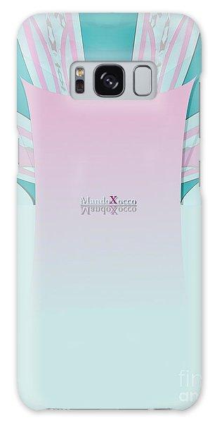 Cream Mint Galaxy Case
