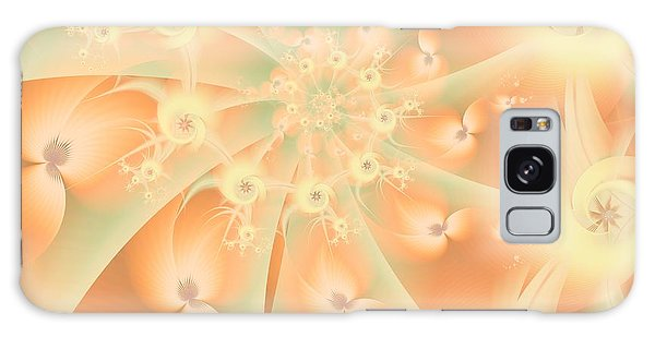 Creamsicle Mint Galaxy Case by Michelle H