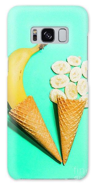 Tasty Galaxy Case - Creative Banana Ice-cream Still Life Art by Jorgo Photography - Wall Art Gallery