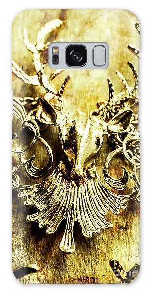 Antlers Galaxy Case - Creature Treasures by Jorgo Photography - Wall Art Gallery