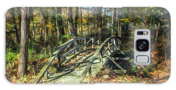 Beautiful Park Galaxy Case - Creek Crossing by Tom Mc Nemar