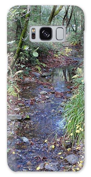 Creek On Mt Tamalpais 2 Galaxy Case