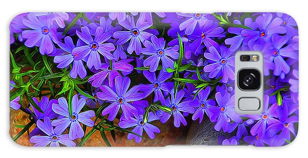 Creeping Phlox 1 Galaxy Case by Dennis Lundell