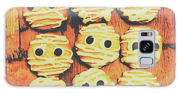 Made Galaxy Case - Creepy And Kooky Mummified Cookies  by Jorgo Photography - Wall Art Gallery