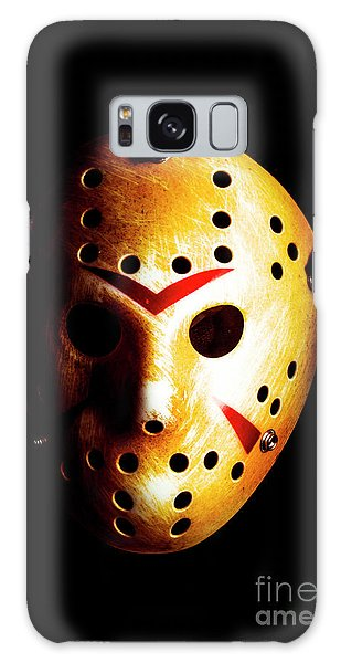 Hockey Galaxy Case - Creepy Keeper by Jorgo Photography - Wall Art Gallery