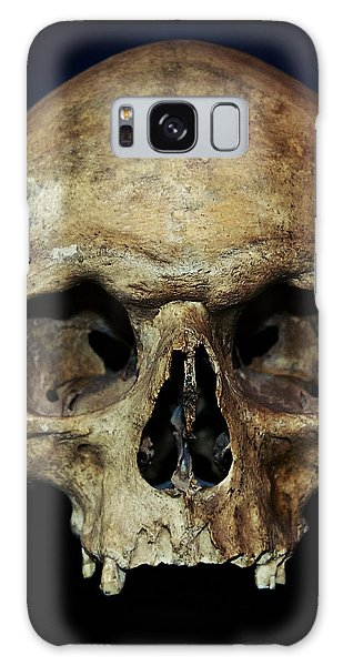 Creepy Skull Galaxy Case