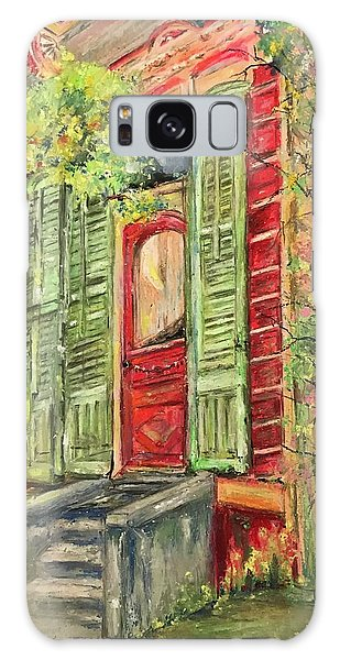 Creole Painted Lady In The Marigny Galaxy Case