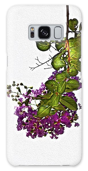 Crepe Myrtle In Oil Galaxy Case