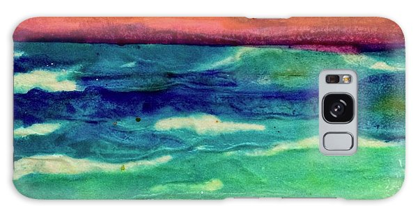 Crepe Paper Sunset Galaxy Case