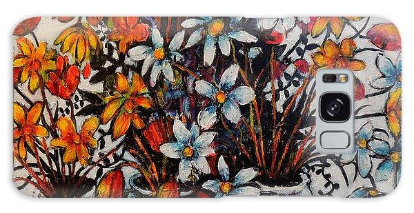 Crescendo Of Flowers Galaxy Case