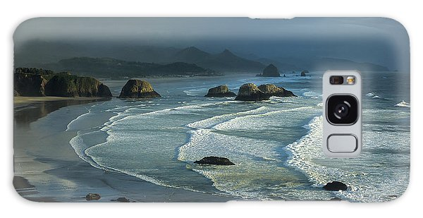 Crescent Beach And Surf Galaxy Case
