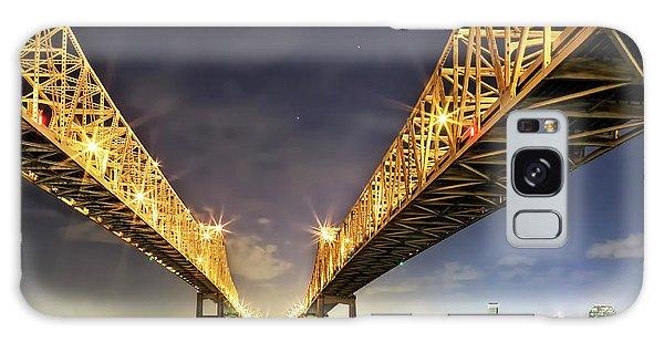 Crescent City Bridge In New Orleans Galaxy Case