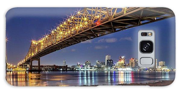 Crescent City Bridge, New Orleans Galaxy Case