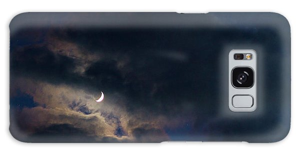Crescent Moon In Hocking Hilla Galaxy Case