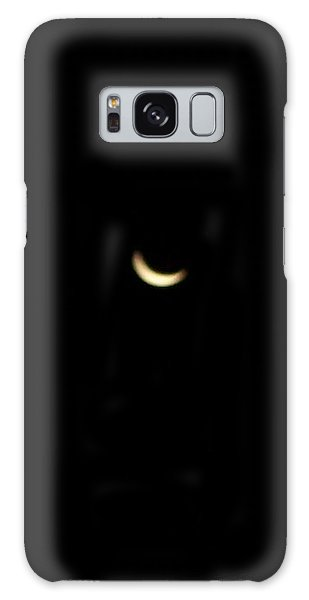 Crescent Moon Galaxy Case