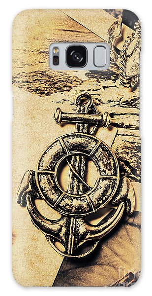 Shipping Galaxy Case - Crest Of Oceanic Adventure by Jorgo Photography - Wall Art Gallery