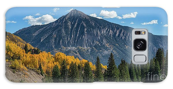 Crested Butte Mountain Galaxy Case