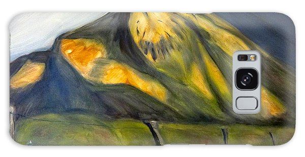 Crested Butte Mtn. Galaxy Case by Kathryn Barry