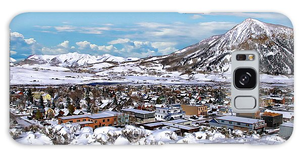 Crested Butte Panorama Galaxy Case