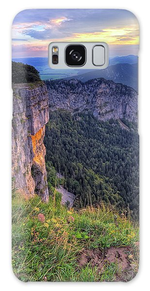 Creux-du-van Or Creux Du Van Rocky Cirque, Neuchatel Canton, Switzerland Galaxy Case