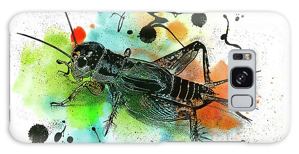 Galaxy Case featuring the drawing Cricket by John Dyess