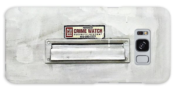 Galaxy Case - Crime Watch Mailslot by Julie Gebhardt