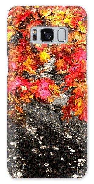 Crimson Splendor II Galaxy Case by Dan Carmichael