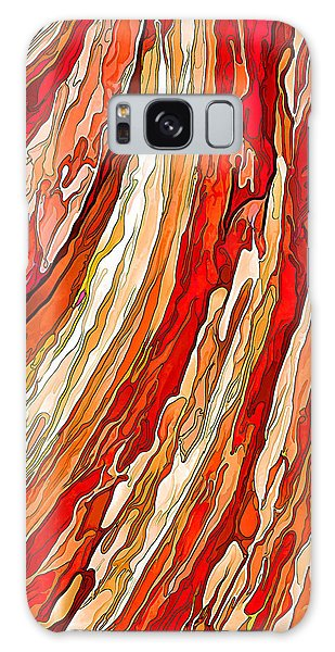 Crimson Tide Galaxy Case by ABeautifulSky Photography