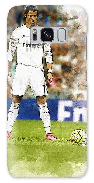 Cristiano Ronaldo Reacts Galaxy Case