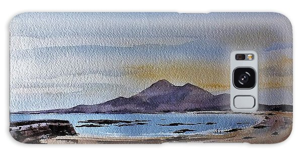 F801  Croagh Patrick From Old Head, Mayo Galaxy Case