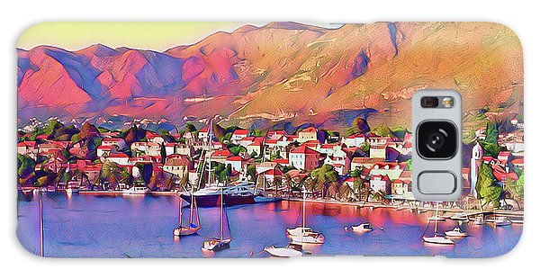 Croatia Coastal Living Galaxy Case