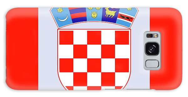 Croatia Coat Of Arms Galaxy Case by Movie Poster Prints