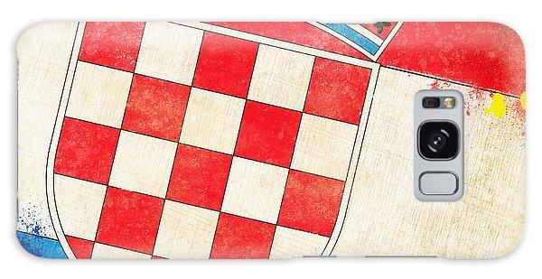 Wall Paper Galaxy Case - Croatia Flag by Setsiri Silapasuwanchai