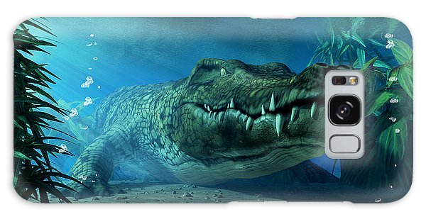 Crocodile Galaxy Case