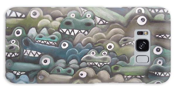 Crocodile Soup Galaxy Case