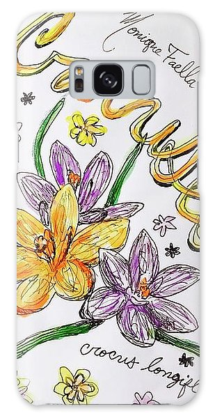 Crocuses Galaxy Case