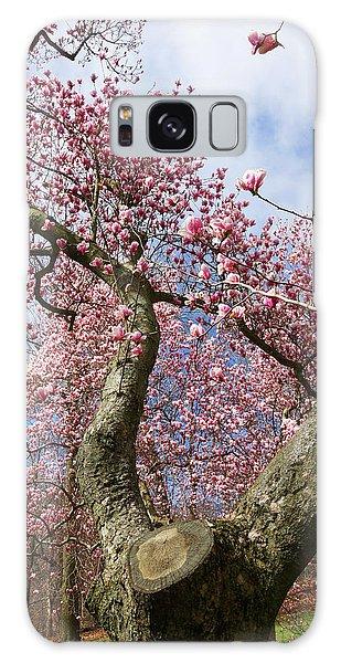 Crooked Magnolia Galaxy Case