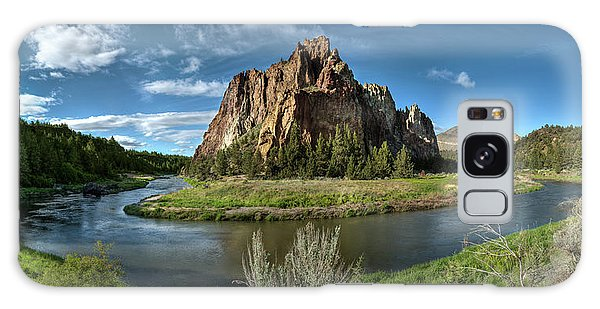 Crooked River And Smith Rock Galaxy Case